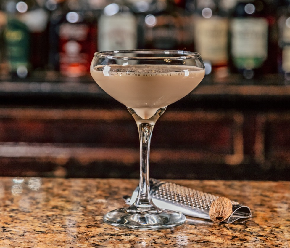Great cocktail recipes from great hotel bars: The Brown Hotel Bisontini, Louisville