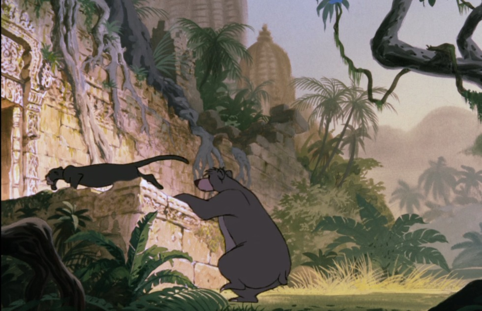 Go around the world with Disney animated movies: The Jungle Book (India)