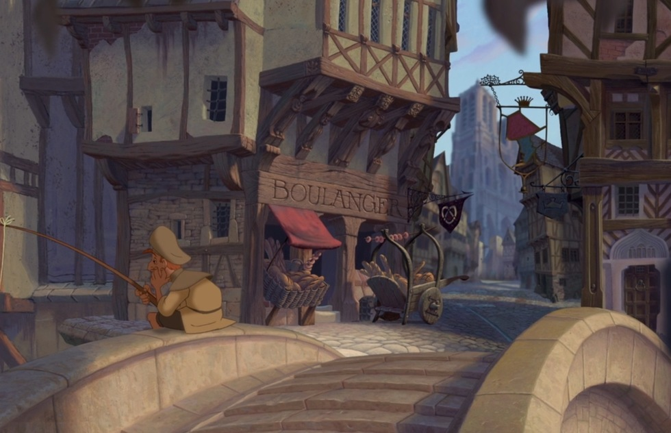 Go around the world with Disney animated movies: The Hunchback of Notre Dame (Paris)