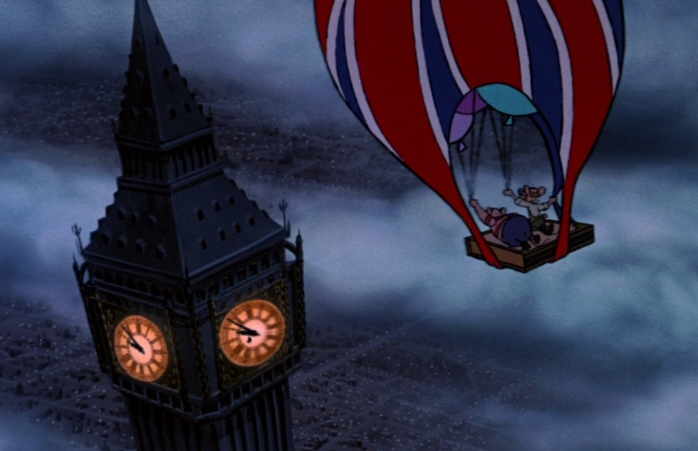 Go around the world with Disney animated movies: The Great Mouse Detective (London)