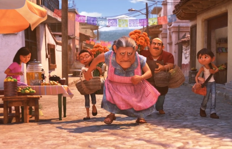 Go around the world with Disney animated movies: Coco (Mexico)