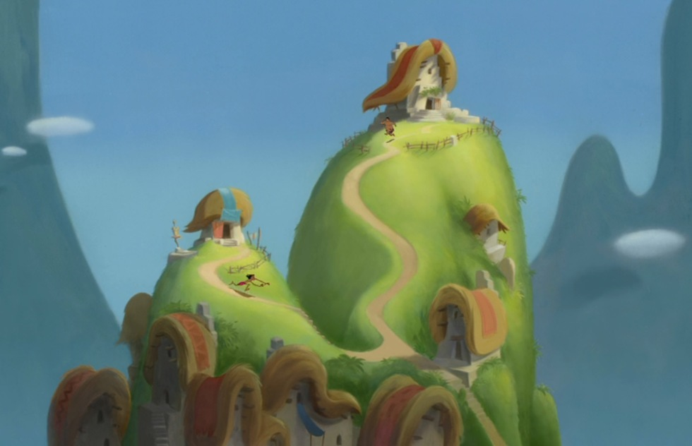 Go around the world with Disney animated movies: The Emperor's New Groove (Peru)