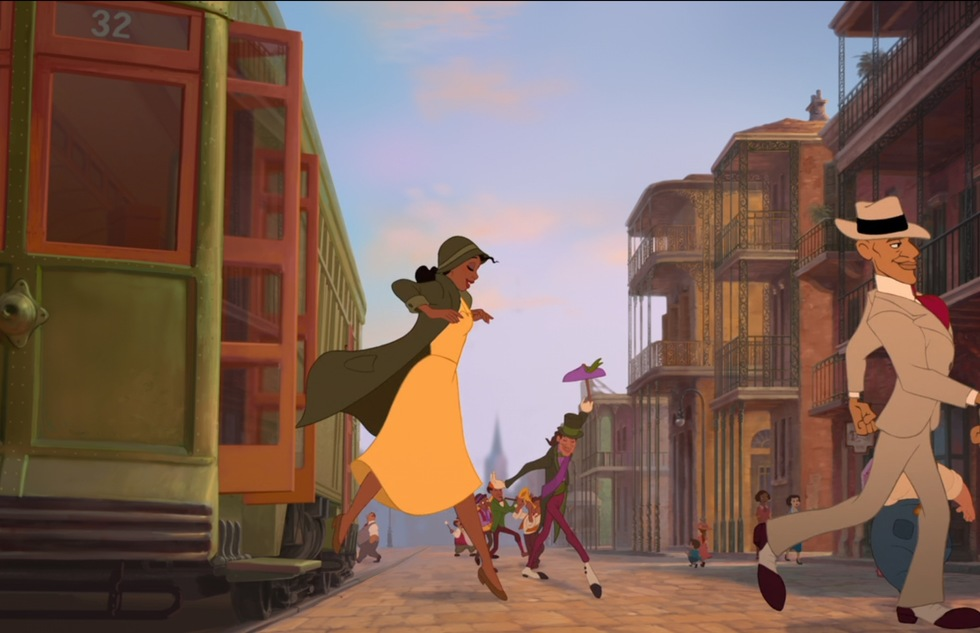 Go around the world with Disney animated movies: The Princess and the Frog (New Orleans)