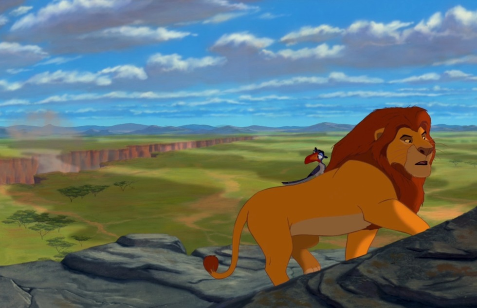 Go around the world with Disney animated movies: The Lion King (Africa)