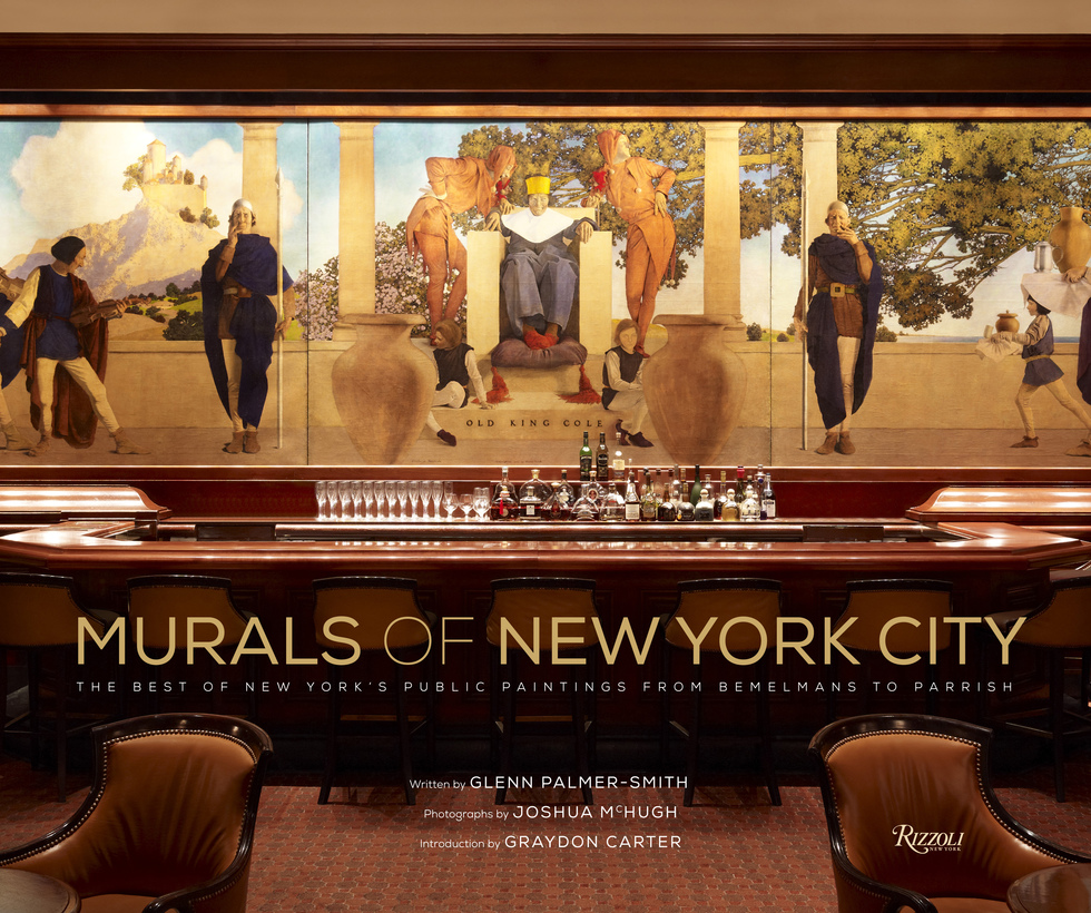 Book excerpt: Murals of New York: The Best of New York's Public Paintings from Bemelmans to Parrish (Rizzoli)