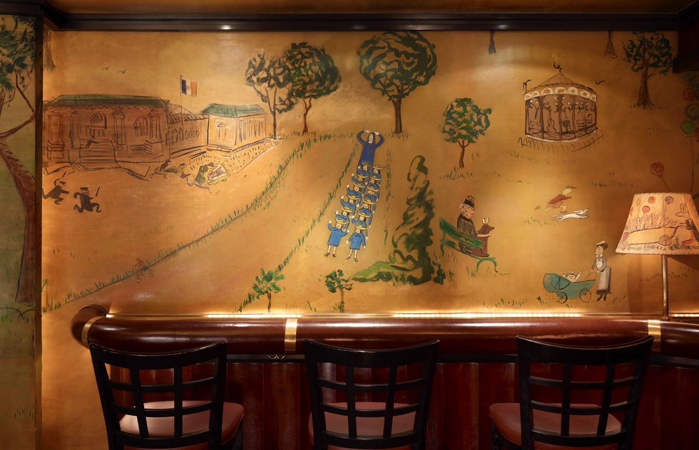 Murals of New York: The Best of New York's Public Paintings from Bemelmans to Parrish (Rizzoli): Bemelmens Bar, Hotel Carlyle