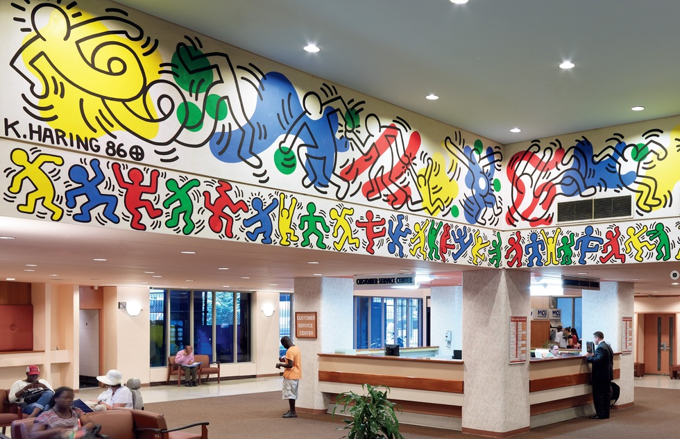 Murals of New York: The Best of New York's Public Paintings from Bemelmans to Parrish (Rizzoli): Woodhull Medical & Mental Health Center