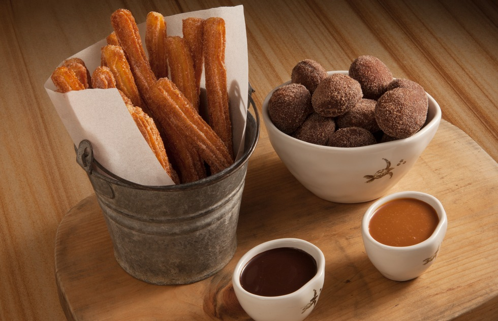 Churros and donuts from Waldorf Astoria Los Cabos Pedregal hotel in Cabo San Lucas, Mexico