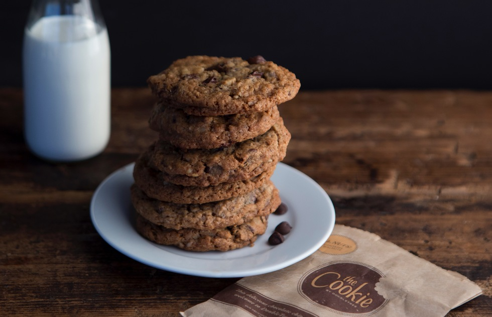 Chocolate chip cookies from DoubleTree by Hilton