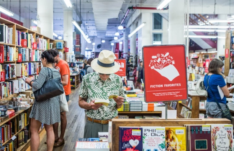 25 Independant Book Stores We Love and Want to Support | The Strand, New York City