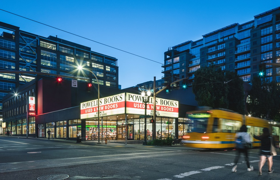 25 Independent Bookstores We Love and Want to Support | Powell's Books, Portland, OR
