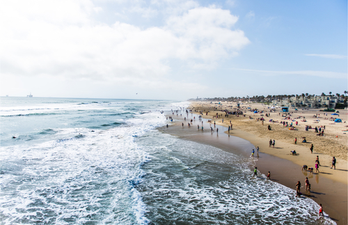 Huntington Beach's Tourism Office Issues Statement on Beach Protests | Frommer's