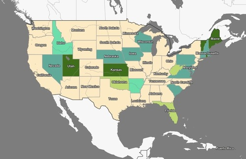 Plan U.S. Travel With This New Interactive Map of Each State's Covid-19 Rules | Frommer's
