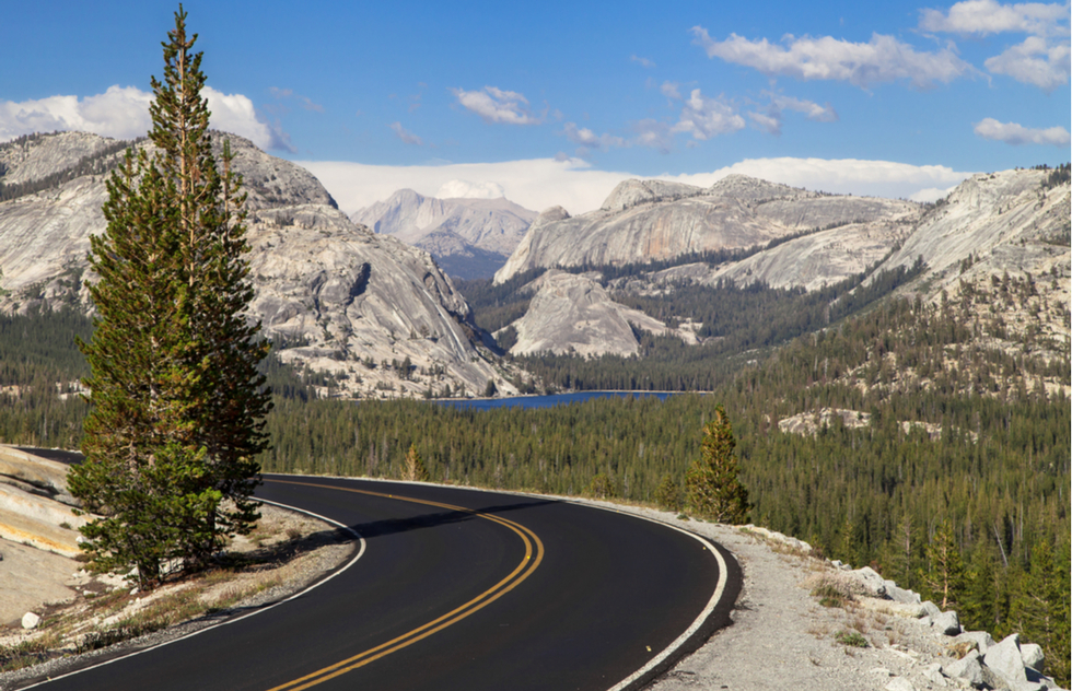 Best national park scenic drives: Tioga Road in California's Yosemite National Park