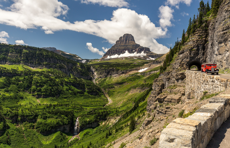 Best national park scenic drives: Going-to-the-Sun Road in Montana's Glacier National Park