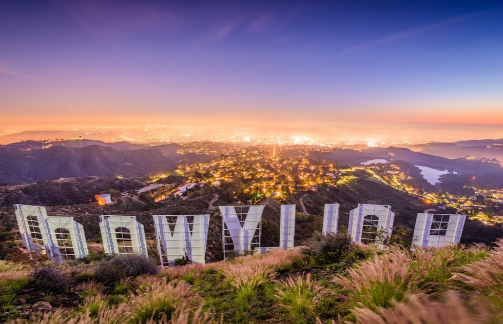 Best ways to see the Hollywood Sign: Atop Mt. Lee