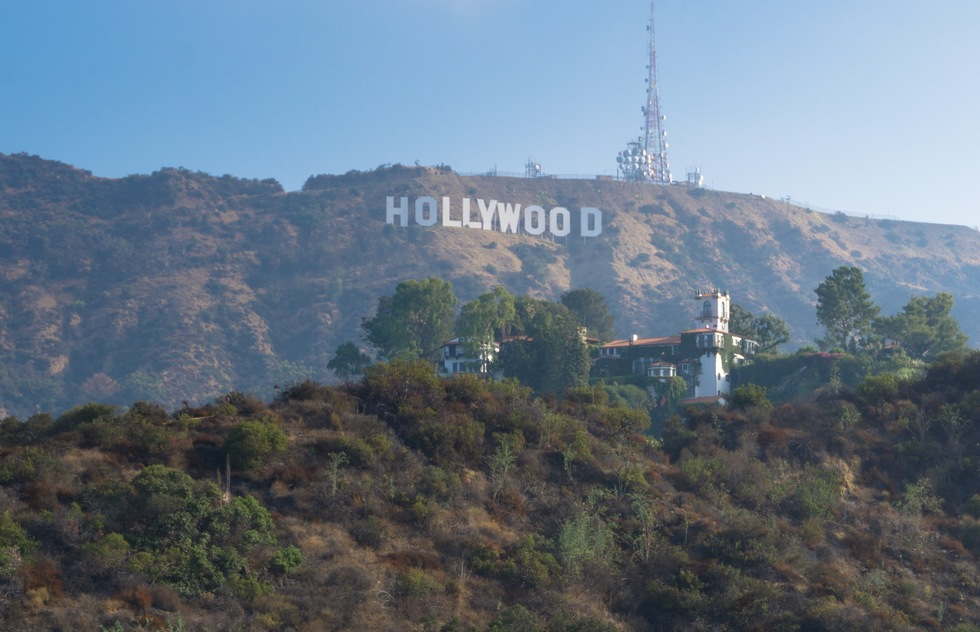 Best ways to see the Hollywood Sign: Mulholland Highway and Innsdale Trail