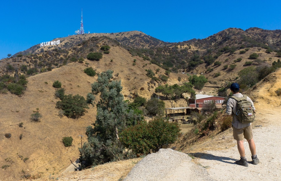 How to get to the Hollywood sign: Hollyridge Trail
