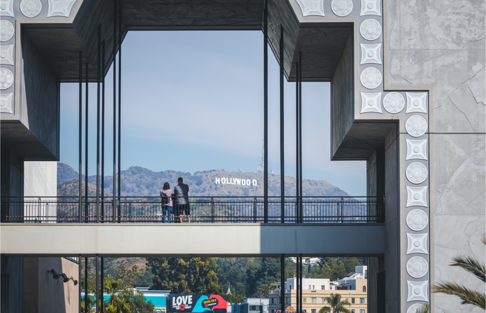 How to see the Hollywood sign: the Hollywood & Highland complex