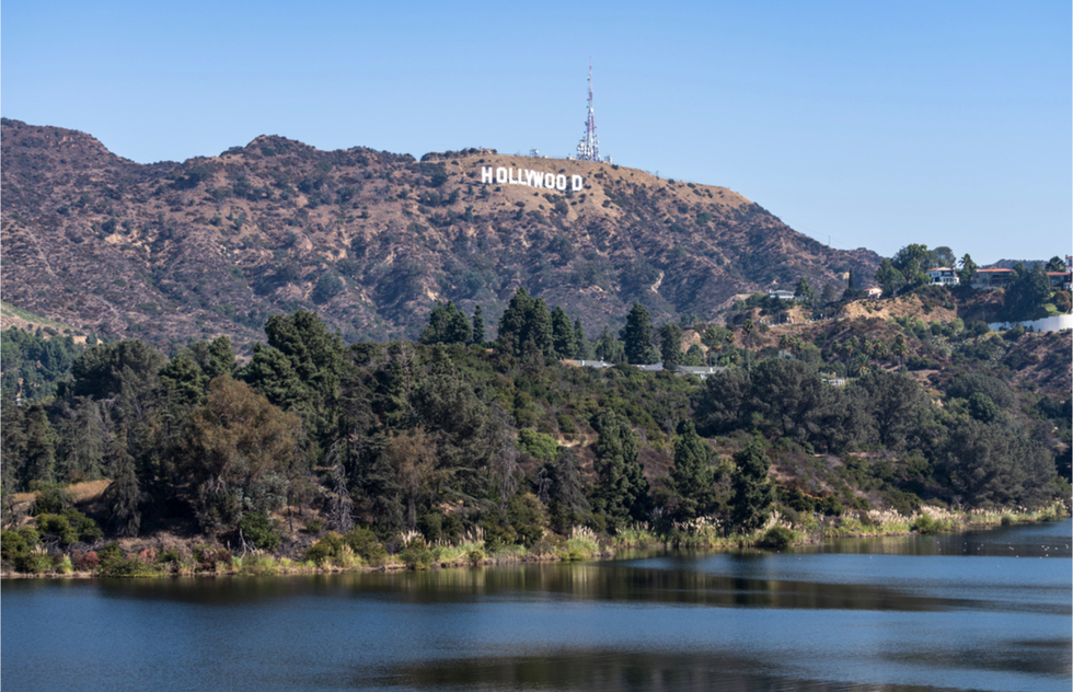 How to see the Hollywood sign: Hollywood Reservoir and the Mulholland Dam