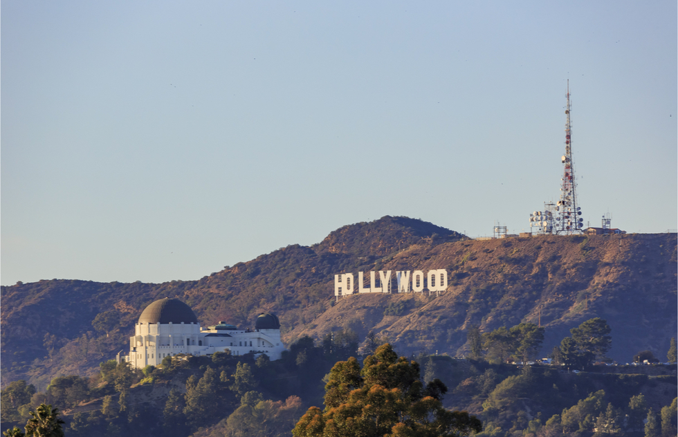 Best places to see the Hollywood sign: Griffith Observatory and Berlin Forest
