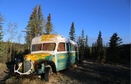 "WATCH: ""Into the Wild"" Bus Airlifted from Alaska Backcountry 