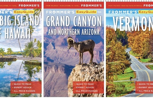 Frommer's Publishes New Series of E-Books For Travel in the United States
