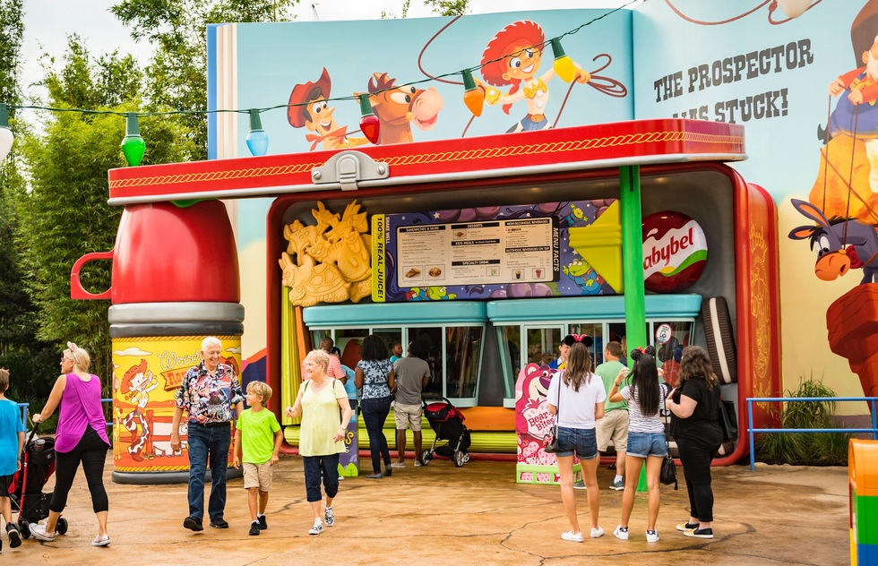 Woody's Lunch Box at Disney's Hollywood Studios in Florida