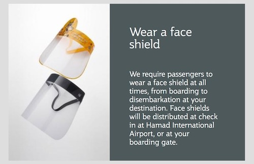 Airline Now Requires Full Face Shields Plus Masks During Flights | Frommer's