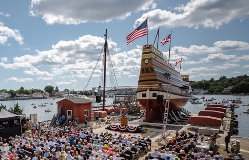 Mayflower Replica Soon to Sail Home to Plymouth—How to Track It Along the Way | Frommer's
