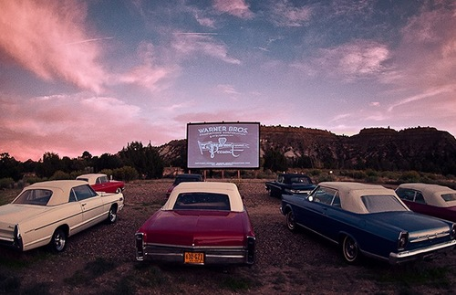 A Former Drive-In Theater in the Utah Desert Is Now a Glamping Retreat | Frommer's