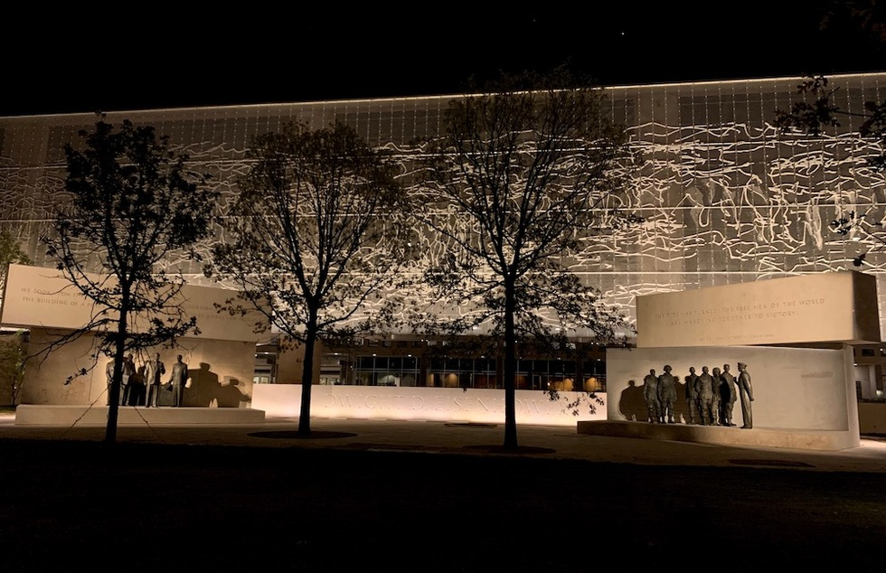 Like Ike? D.C.'s Eisenhower Memorial to Open After Long Controversy | Frommer's