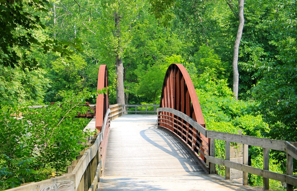 Best bike rides in U.S. national parks: Towpath Trail in Ohio's Cuyahoga Valley