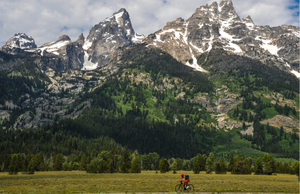 Best U.S. national parks for bicycling: Grand Teton National Park in Wyoming