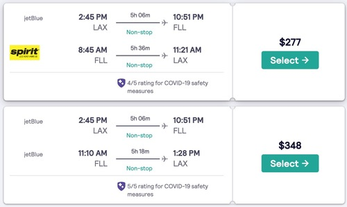 Major Airfare Search Engine Now Includes Covid-19 Safety Ratings | Frommer's