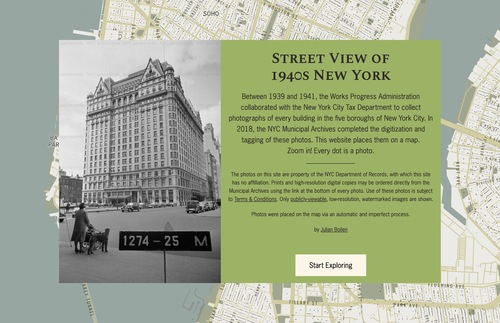 This Interactive Street-View Map Shows What NYC Looked Like, Circa 1940 | Frommer's