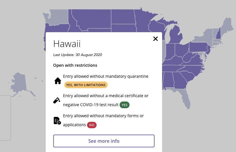 Try These Two Maps to Track Covid-19 Restrictions State-By-State in the USA | Frommer's