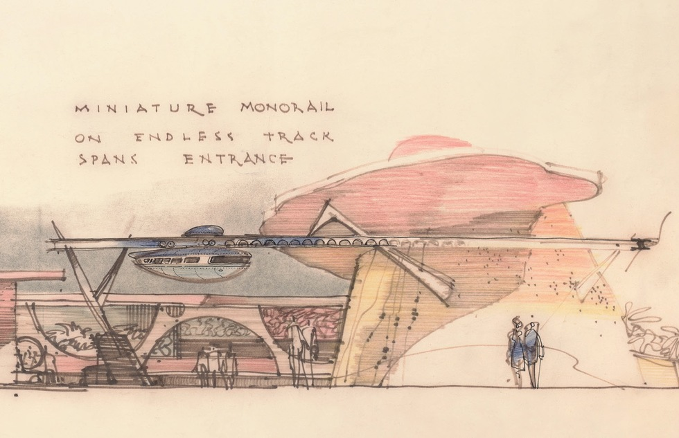 Disney's monorail: The meanings of Disney's World of Tomorrow