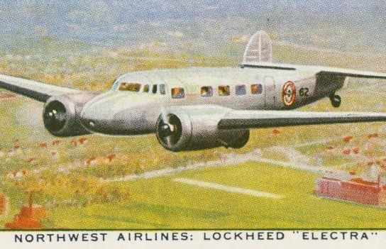 Air Liners of the 1930s on trading cards