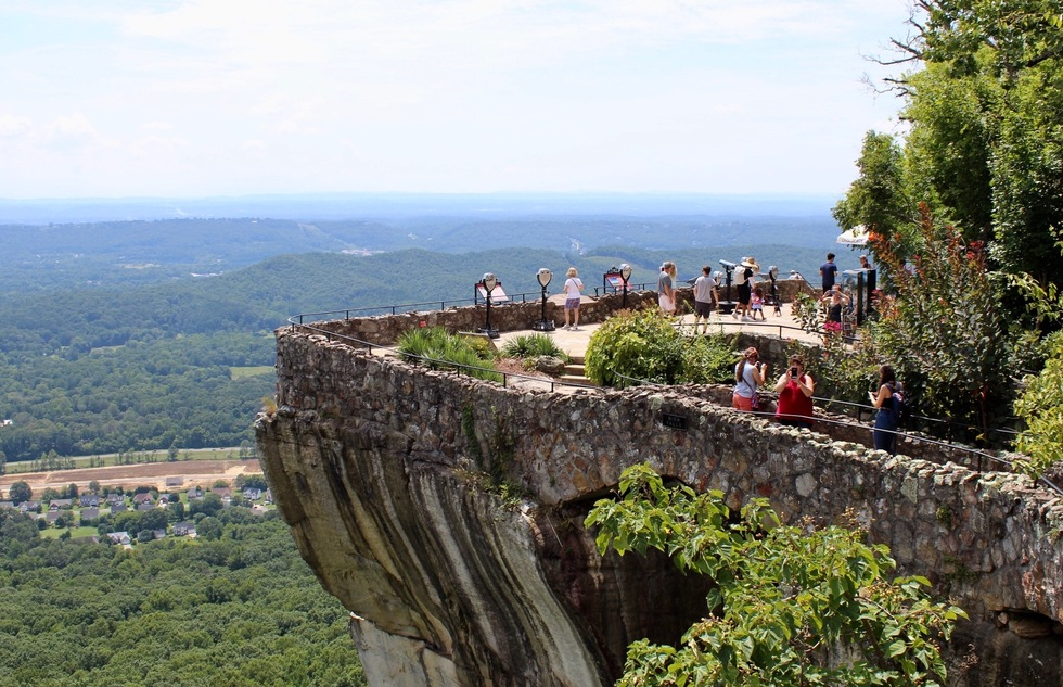 America's best roadside attractions: Rock City on Georgia's Lookout Mountain