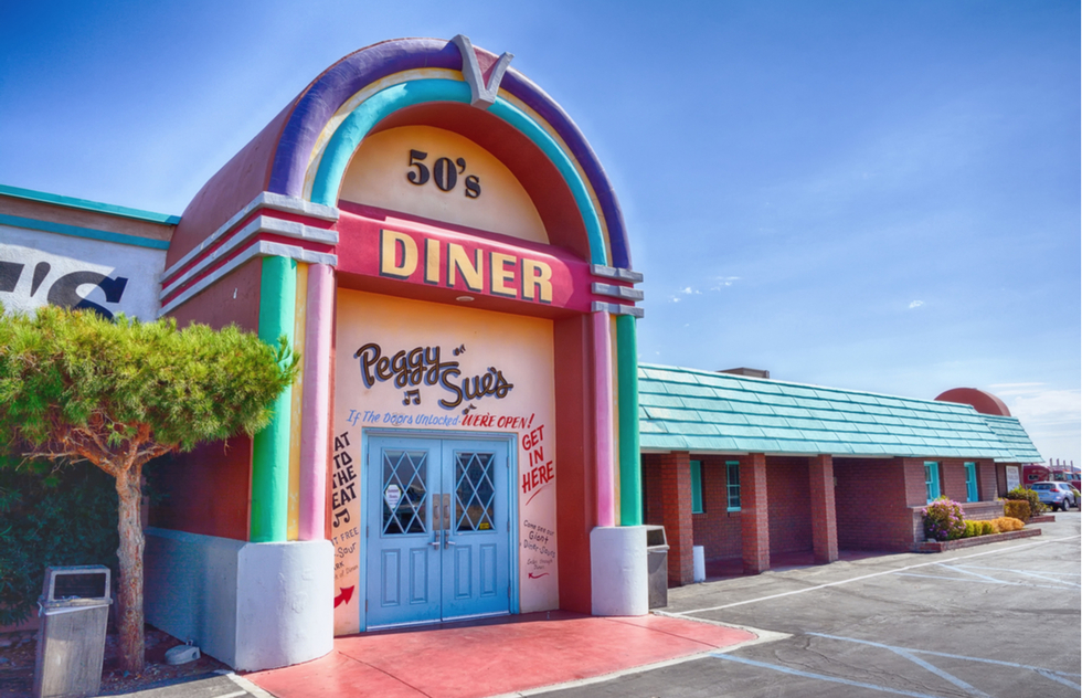 America's best roadside attractions: Peggy Sue's 50's Diner in Yermo, California