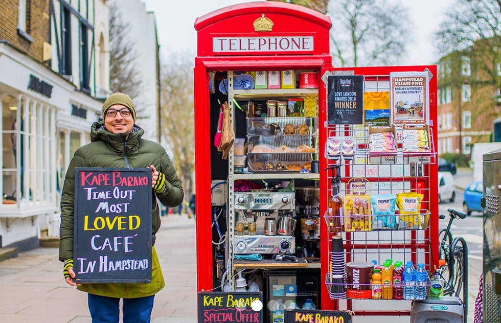 London's Iconic Red Boxes Reborn as Shops: Phone Booth Curry for Lunch?  | Frommer's