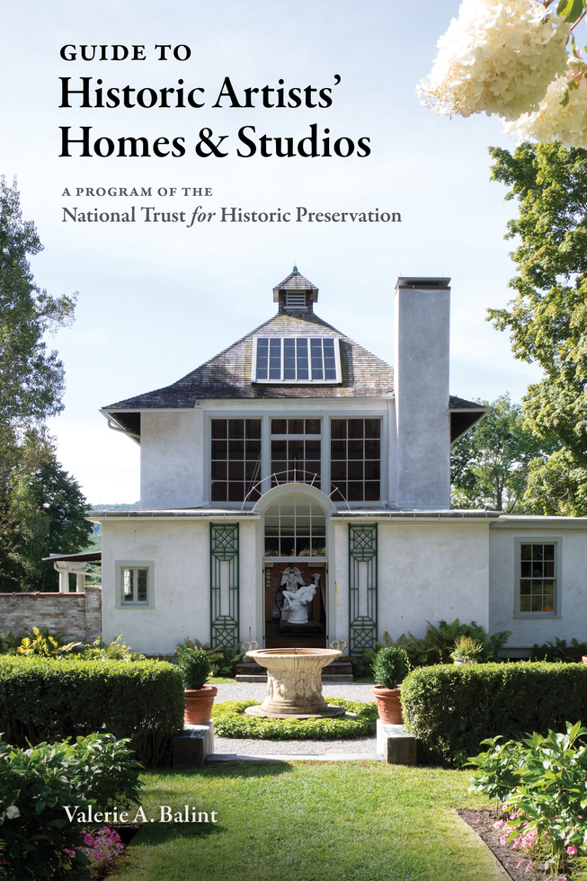 Book cover: Guide to Historic Artists' Homes and Studios by Valerie Balint
