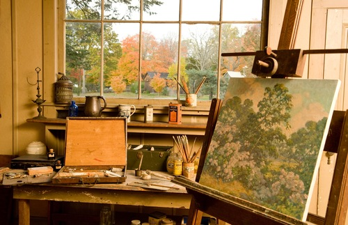 Where Great Artists Worked: America's Historic Homes and Studios | Frommer's