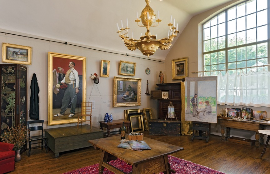 Guide to Historic Artists' Homes and Studios: Gari Melchers, Falmouth, Virginia