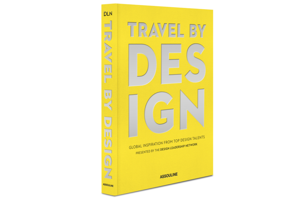 """Travel by Design"" book cover"