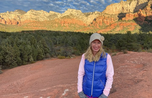Kelly Glynn in Sedona Arizona