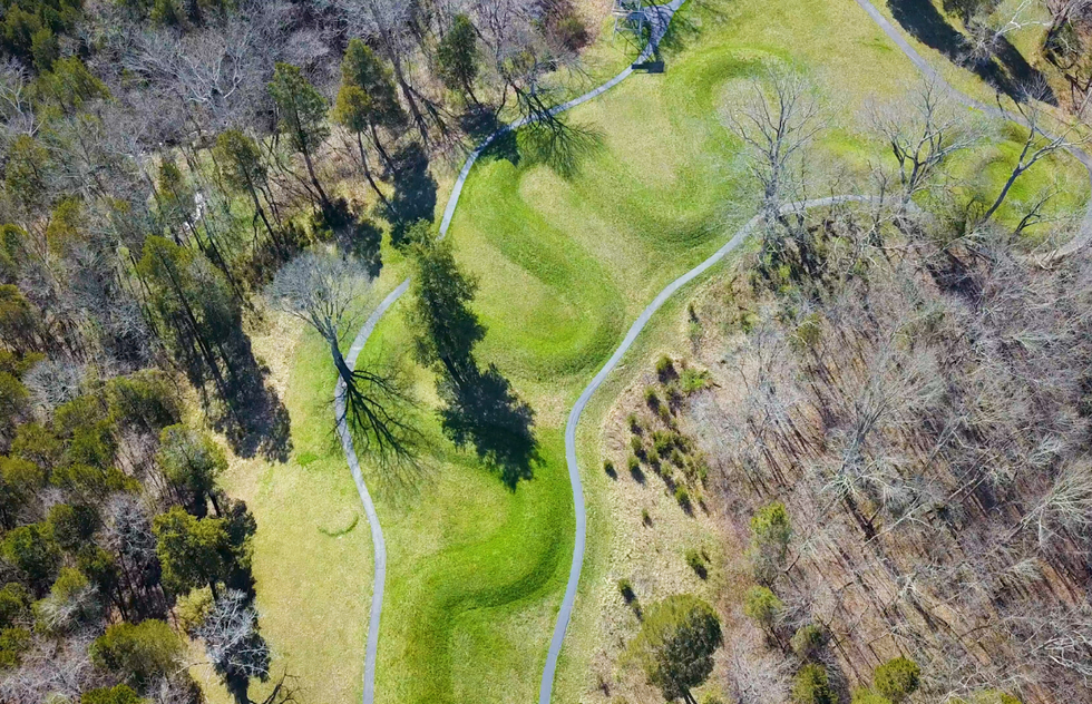 Best Places to go in 2021: Gloria Steinem: Serpent Mound Historical Site, Ohio