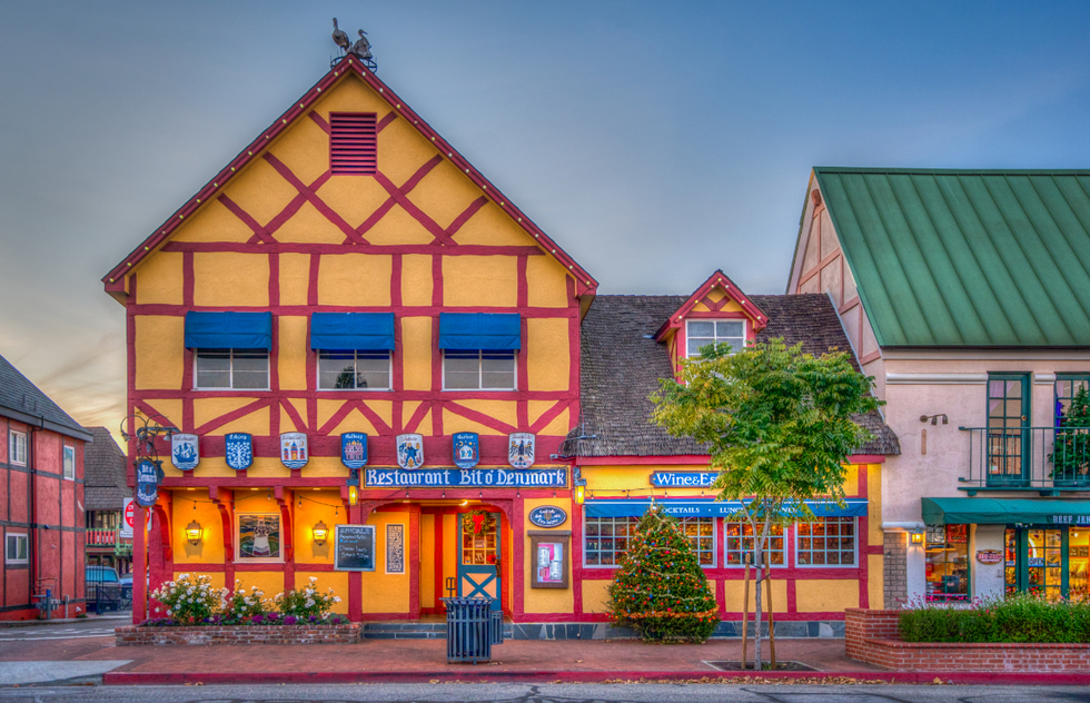 Best Places to go in 2021: Fannie Flagg: Solvang, California