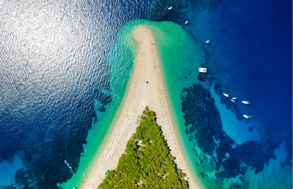 Most Beautiful Places in Croatia: Zlatni Rat, Brač